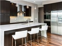 Macaubas White Quartzite Kitchen Countertop