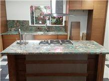 Amazonita Granite Custom Countertops