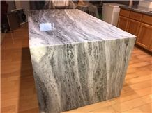 White Python Quartzite 2cm Polished Island Top