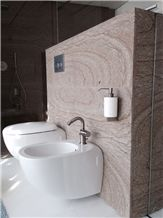 Trachite Di Zovon, Trachite Calda Variegata, Trachite Giallo Venata Wtrachyte Wall Tiles
