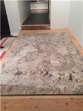 White Ice -Delicatus White Granite Slabs