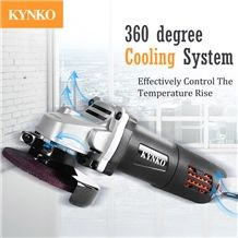Kynko Industrial Grade Angle Grinder for Stone Cutting/Grinding