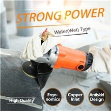 Professional Quality Angle Grinder for Stone Polishing