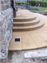 Church Entrance Steps and Disabled Entrance Ramp