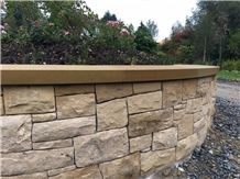 Mountcharles Sandstone Garden Wall