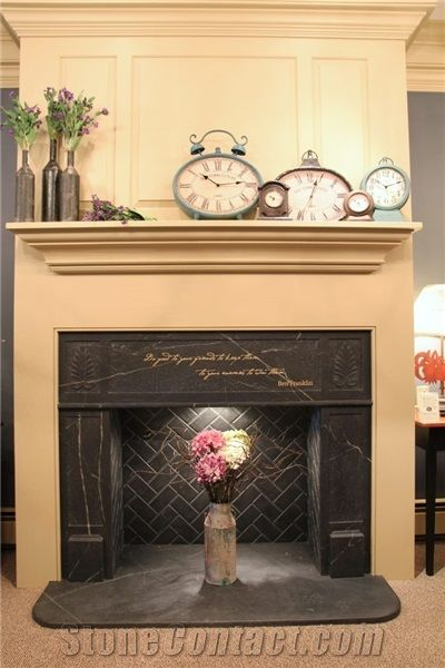 Soapstone Fireplace Surround From United States Stonecontact Com