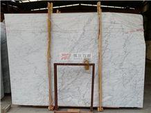 Italian Bianco Carrara Extra White Marble Tiles and Slabs