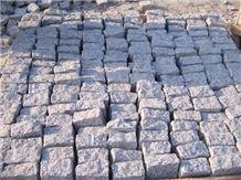 Grey Granite Cobble Stone Pavers