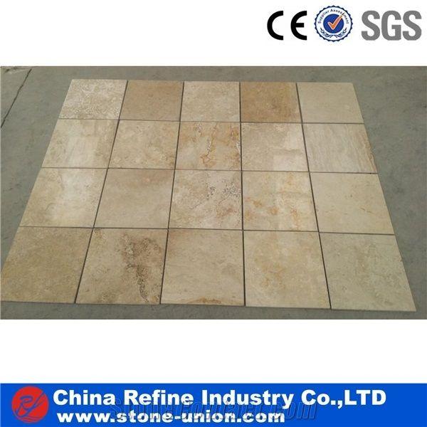 Beige Travertine Floor Tiles Wall Tilestumbled Travertine French