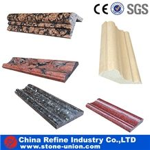 Granite Molding,Marble Molding & Border, Pencil Liners, Skirtings,Hot Sale Natural Stone Border,Stone Liners, Stone Wall Border Decos, Stone Molding