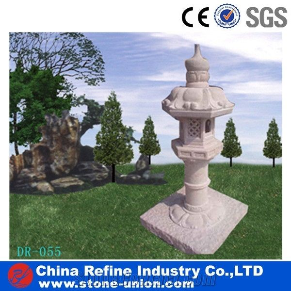 Japanese Garden Lantern,G603 Granite Garden Lantern,Granite Lantern,Garden  Lamp, G603 Grey Granite Garden Lamps,Stone Lantern, Grey Granite Lanterns