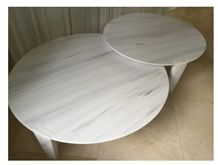 Kenya White Marble Table Top