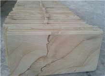 Landscape Sandstone, Sandstone Tiles, Sandstone Slabs, Sandstone Floor Tiles, Sandstone Floor Covering, China Yellow Sandstone
