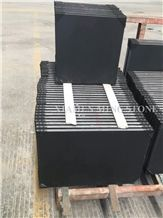 Good Packing Honed China Royal King Black Marble Tile Panel,Classic Pure Nero Ink Marble Slab Pattern Wooden Crates,Block Stock Good Quality