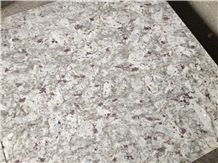 Indian New Kashmir Leopard White Cotton White Granite Slab Tiles,Wall Cladding Panel,Floor Covering ,Exterior Walling Pattern Tile