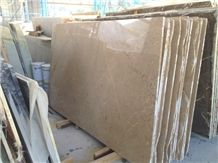 Isparta Beige Marble Cream Bartu Light Beige Marble Slab,Machine Cut Panel Tile for Hotel Floor Covering.Pattern Sheet
