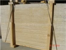 Moon Surface Silver Beige Travertine Machine Cutting Slabs Tile,Panel for Hotel Floor Covering,French Pattern