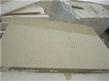 Pearl Yellow Sesame Granite Paver Cube Stone Cobble Exterior Pattern Walkway Paving for Garden