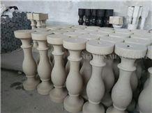 Portugal Beige Classico Crema Limestone Machine Made Balustrades,Baluster for Villa Exterior Balcony