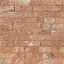 Terra Coral Splitface, Outdoor Stone, 10xflx2,3 Cm, Walling Stones
