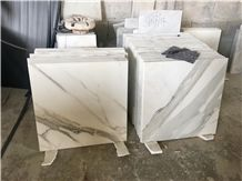 Imported Natural Stone, Calacatta Slab & Wall Covering Tiles