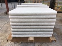 White Quartzite Coping Bullnose for Swimming Pool Tiles