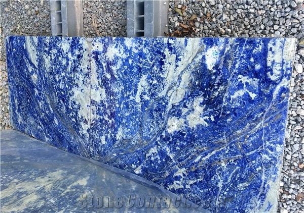 Sodalite Sodalita Blue Sodalite Granite Slabs Sodalite