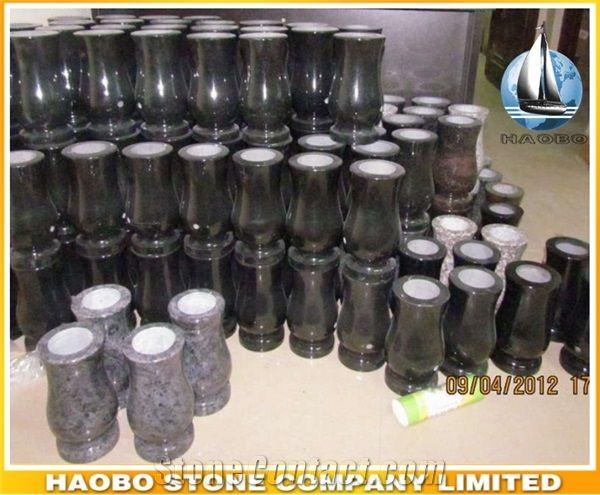 Haobo Stone Company Limited - StoneContact.com & Cheap Customize Granite Memorial Vases for GravesChina ...