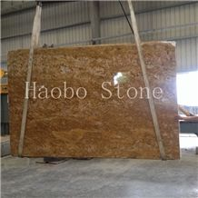 China Quarry Beautiful Imperial Gold Granite Slab&Tiles&Curb Available in 2cm & 3cm,Paving Block,Floor Tiles, Wash Sink,Basin,Worktop Wholesale Price