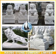 High Quality Quarry Life Size Custmoize Granite&Marble Lion Sculpture Large&Small Animal Statue for Indoor&Outdoor Decoration Wholesale Cheap Price