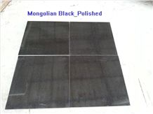 Natural Mongolia Black Basalt