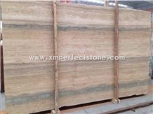 Tarvertino Silvia Slab,Silver Travertine Slab,A Grade Natural Stone,Own Factory and Quarry Owner with Ce Certificate,Big Gang Saw Slab