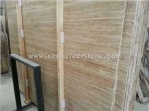 Wood Grain Travertine Vein Travertine Tiles & Slabs Price