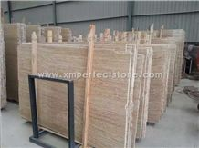 Wooden Travertine Slab,Iran Classic Travertine Tiles