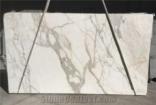 Statuario Venato Marble Slabs Tiles