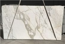 Statuario Venato Marble Slabs & Tiles