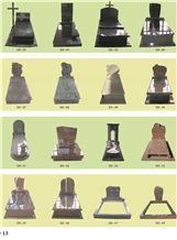 China Made Europe Tombstone-Germany Headstone-Granite Monument-Red Granite Headstone-80x50x12cm Polished,China Tombstone