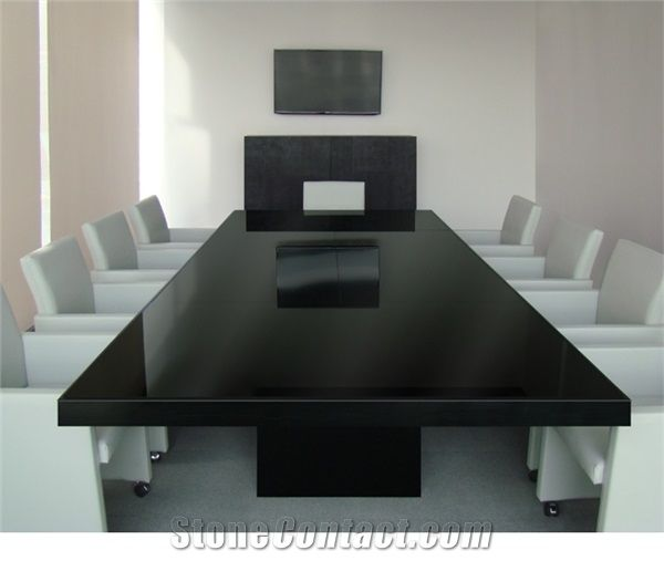 Acrylic Solid Surface Artificial Stone Office Furniture Multi Colors - 20 person conference table