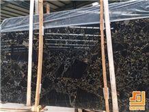Portoro Extra Scuro,Nero Portoro Vena Larga Marble Big Slab, Own Factory Polished Stone Want to Sell, Stock Slab Be Used for Wall Claading Panel,Floor