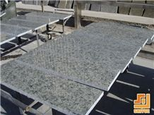 Yanshan Lue, Northern China Area Polished Green Granite Tiles, Chengde City Cheapest Color Stone for Wall Paneling Cover, Flooring