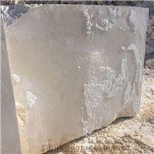 Turkish Botticino Ivory Marble Block