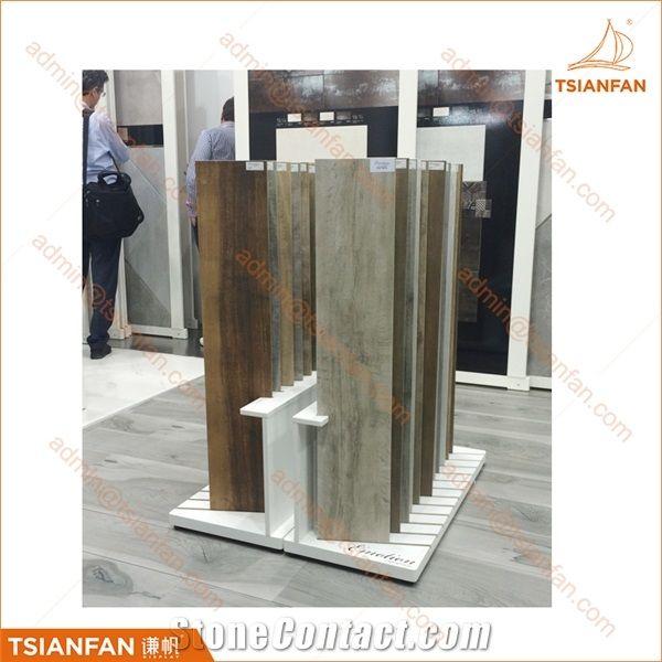 Mdf Flooring Tile And Ceramic Tile Display Stand For Tile Showroom