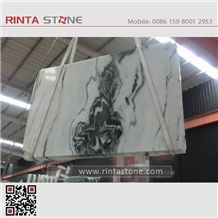 Marble Panda White China with Black Vein Landscape Paintings Sonal Asia Equator Milk Zebra Marmara Xiongmao Slabs Tiles