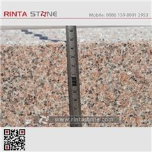 Marry Red Fantasy Pink Granite Slabs Tiles Anxi Rosa Beta Spring Cherry Brown Coffee China Cheap Stone Sanbao Huidong Wulian Flower Xinjiang