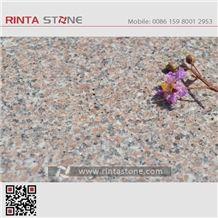 Marry Sakura Red Fantasy Pink Granite Slabs Tiles Anxi Rosa Roay G635 Spring Cherry Brown Coffee China Cheap Stone Xinjiang Sanbao
