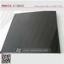 Mongolia Black Granite China Absolute Black Stone Slab Tile Kitchen Top Pure Black Basalt Wall Cladding Nero Mongo Black Dark Padang Basalt Pattern