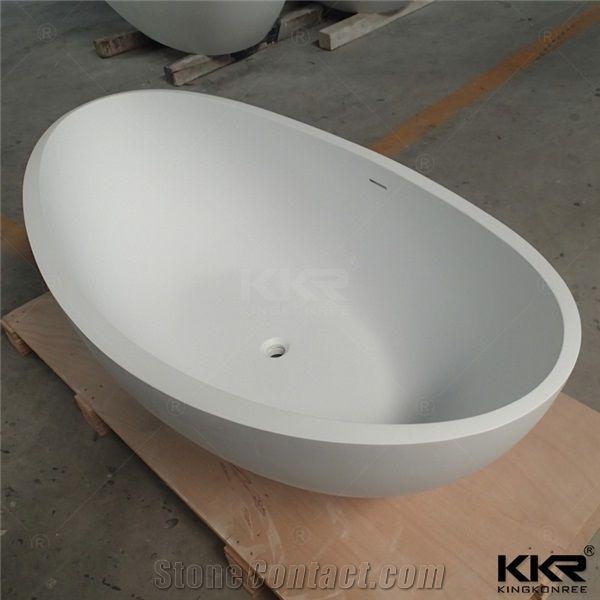 Italian Design Small Size Soaking Bathroom Deep Bathtub Artificial Stone  Acrylic Solid Surface Wash Tubs