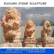 Lion Statue Lion Sculpture Garden Sculpture