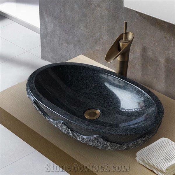 G654 Granite Wash Basin Grey