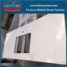 Artifical Stone Quartz Bathroom Tops,Man Made Stone Quartz Bathroom Countertops,Popular Engineered Vanity Tops,Cut to Size